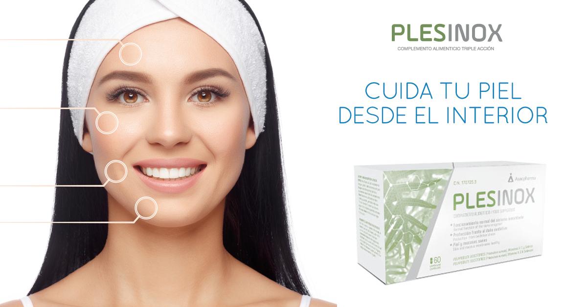 Cuida tu piel desde el interior con Plesinox
