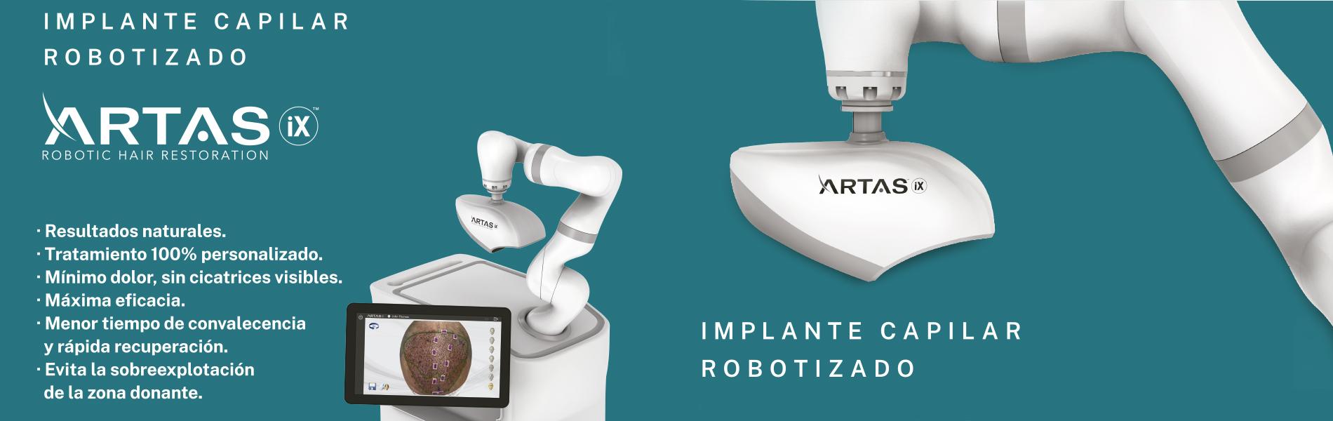 Implante capilar robotizado
